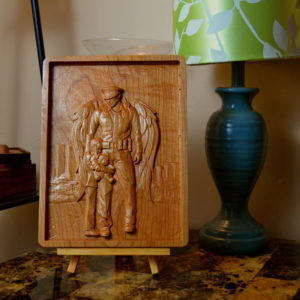 Personalized Police Officer Wooden Sign/Plaque 3D CNC Carved, Unique!